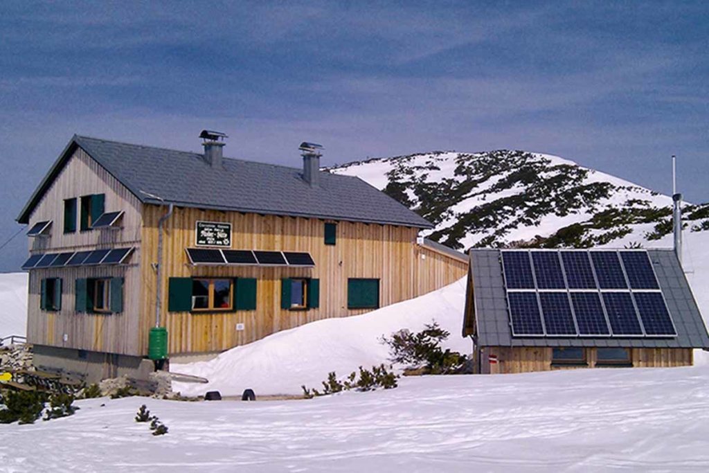 Stromversorgung (Insellösung) Rieder Hütte