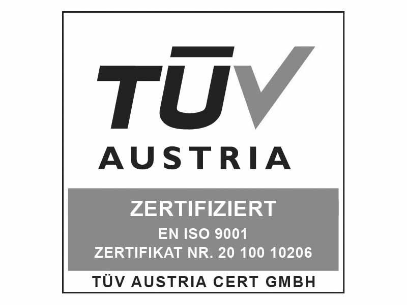 TÜV-zertifiziert doma